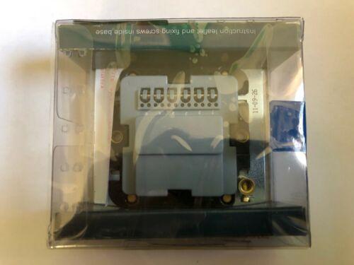 Ultimate Screwless inoxydable plaque plane téléphone secondaire Socket Acier 70026