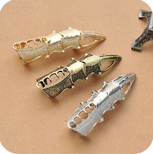 Fashion-Knuckle-Talon-Finger-Ring-Eagle-Claw-Gothic-Punk-Rock-Jewelry-Metal-Ring