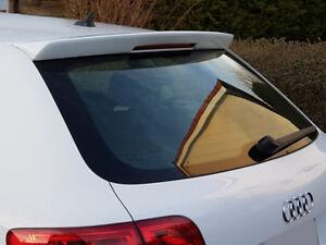 Audi A3 Sportback 8PA Hatchback Spoiler Sportsline Ansatz Coda Scheibenblende