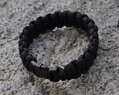 MFH paracord survival Bracelet BW Army us 550 paracord Bracelet 19mm s-L