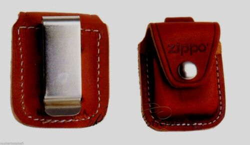 Zippo Étui M Clip Marron Pochette de Ceinture Etui Cuir 1701005 60001218