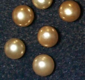 10 Pieces   8MM and 10MM Sale Pricing-25/% off PEARL and BRASS BEADS