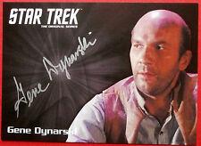 STAR TREK TOS 50th GENE DYNARSKI as Ben Childress LIMITED EDITION Autograph Card