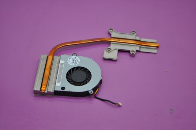 TOSHIBA Satellite L455 L455-S5975 Laptop CPU Heatsink AT0BF0010R0 w// Screws
