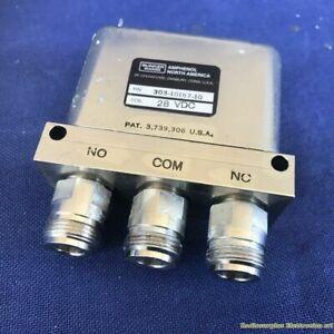 RF Coaxial Switch BUNKER RAMO Amphenol 303-10167-10