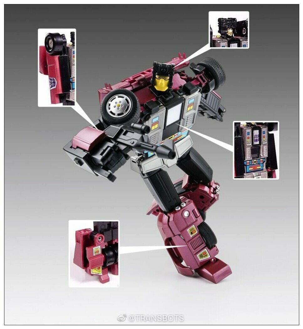 XTransbots MX15T Deathwish Younger Ver  Dead End Transformers giocattolo in stock