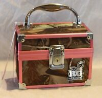 Rg By Caboodles Realtree Ap Pink Camo Small Train Makeup Case/box 4502-20