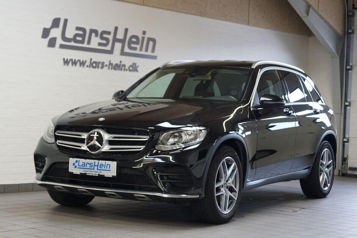 Mercedes GLC220 d 2,2 AMG Line aut. 4-M 5d - 499.800 kr.