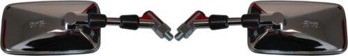 Left /& Right Mirrors Chrome 10mm x2pcs 588550 Suzuki VX 800 1990-1996