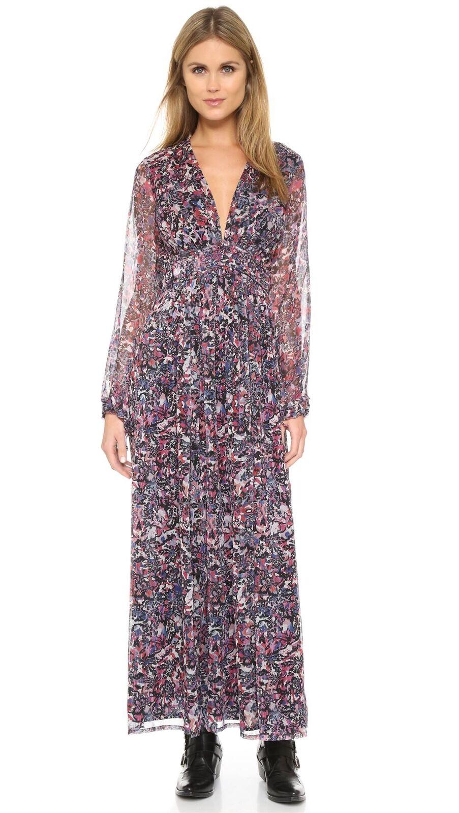 IRO KIMIE Floral  Vestido Maxi FR 36 Reino Unido 8  precios al por mayor