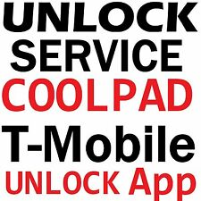 T-Mobile USA Coolpad Rogue 3320A Catalyst 3622A Unlock App Service Code TMobile