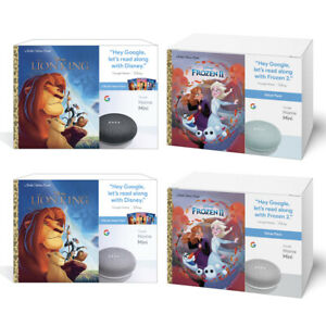 NEW-Google-Home-Mini-Smart-Speaker-Disney-Little-Golden-Books-Bundle