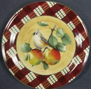 Lenox-Winter-Greetings-Tartan-Tufted-Titmouse-Dinner-Plate-Catherine-McClung