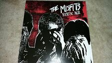 MISFITS Static Age SIGNED AUTOGRAPH Album LP COVER Jerry Only #O