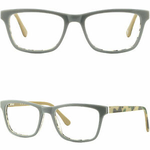 2861a38f07 Image is loading Square-Men-Women-Plastic-Frames-Spring-Hinges-Prescription-