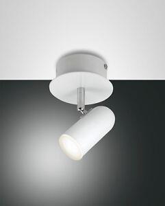 Lampara-de-Pared-Led-Foco-Reflector-Spotty-1-Fabas-Luce-3328-81-102-Blanco