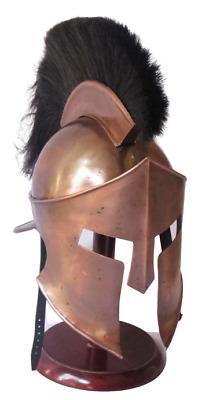 Medieval King Leonidas Greek 300 Spartan Armour Helmet,Halloween Costume Movie