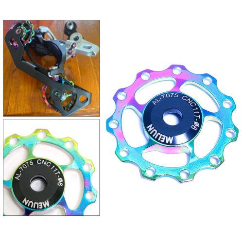 Details about  /Bike 11T 13T Aluminum Jockey Wheel Bicycle Rear Derailleur Guide Pulley Bearing