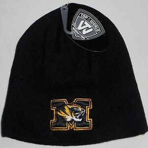 finest selection 8e412 e84c1 Image is loading MISSOURI-TIGERS-TOP-OF-THE-WORLD-WINTER-BEANIE-
