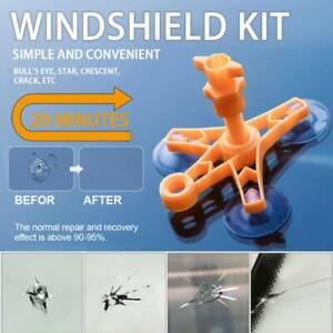 Car Windshield Windscreen Glass Scratch Chip Crack Repair Tool DIY Kit Set Tools