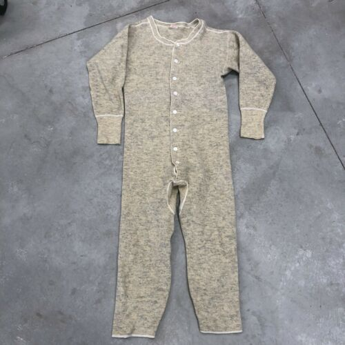 Vintage Wilson Bros Wool Long Underwear Clothing E