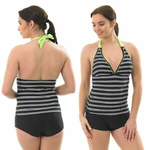 ed19ae3c53 Details about ladies tankini size 10 12 14 16 swimming costume beachwear  swimsuit bikini