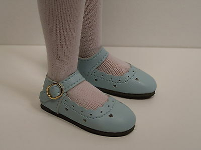 "LT PINK Scallops Doll Shoes For 14/"" Kish Chrysalis Lark Song Piper Raven Debs"