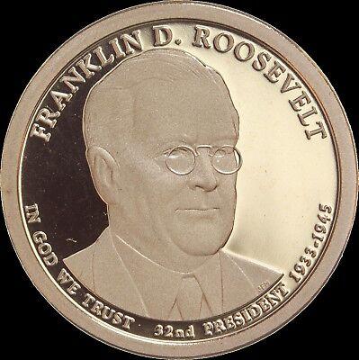 2014-S Franklin Roosevelt DCAM Proof Presidential Dollar Bargain Priced FREE S/&H