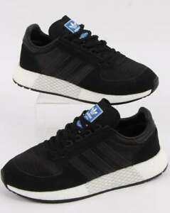 adidas-Marathon-Tech-Trainers-in-Black-Boost-sole-vintage-inspired-runner