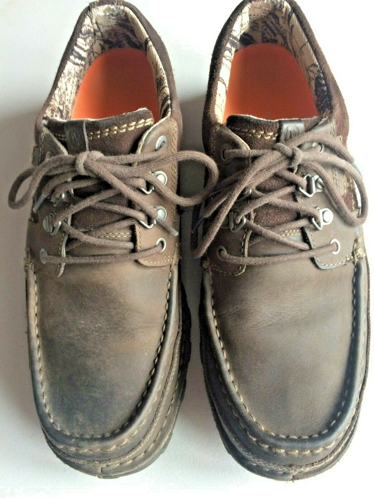 MERRELL Espresso Select DRY Performance Footwear Leather Suede shoes Mens