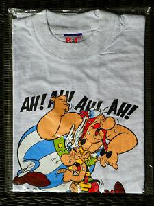 Asterix & Obelix T-Shirt - Laughing - Asterix Obelix Dogmatatix - Grey L