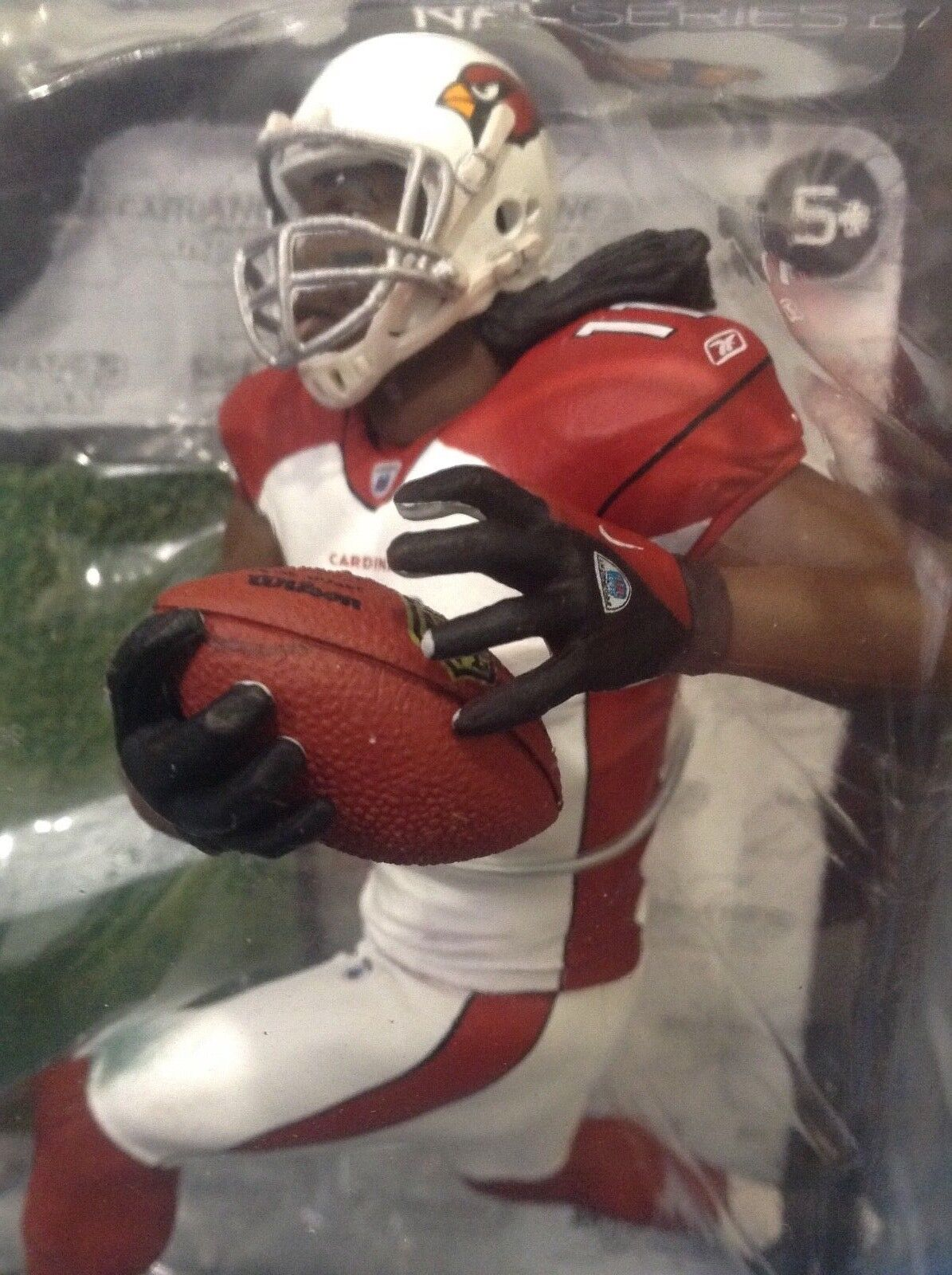VERY LOW No.  - ARIZONA CARDINALS LARRY FITZGERALD    McFARLANES SERIES 27