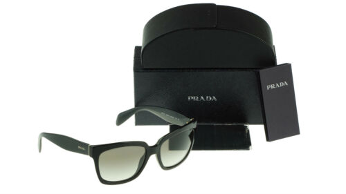 ASIAN FIT Classy NEW Authentic PRADA Heritage Black Sunglasses SPR 07PA 1AB 0A7