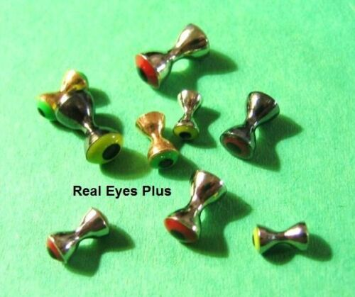 15 REAL EYES Plus barbells dumbbell beads/>4.8mm 3//16 />5 Color Choices