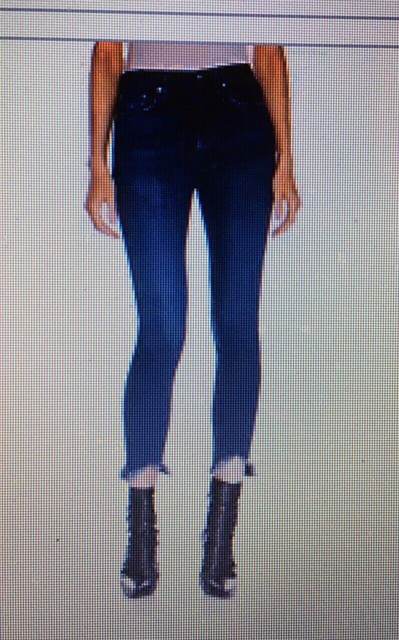 Neuf avec étiquettes Rag & Bone Lenox High Rise Ankle Skinny Détruit Ourlet Jeans Taille 23,  250