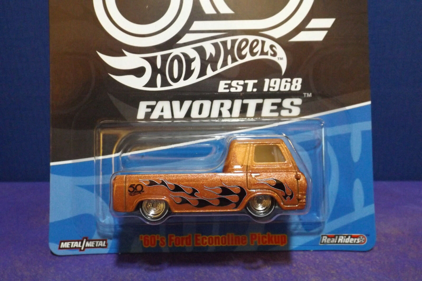 Hot Wheels 50th Anniversary Diecast 18m S Ford Econoline 1949 Van Norton Secured Powered By Verisign