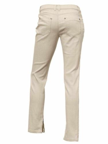 KP 49,90 € /%SALE/% Jeans-Hose Kurz-Gr Linea Tesini by heine Mauve NEU!!