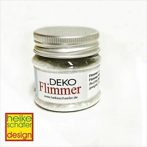 Flimmer-Fein-in-der-Farbe-Transparent-20g-Neu-Heike-Schaefer-Design