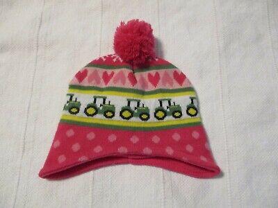 Pink, John Deere Girls Toddler Winter Cap