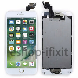 Fuer-iPhone-6-PLUS-5-5-034-Display-LCD-VORMONTIERT-RETINA-Glas-Komplett-Touch-Weiss