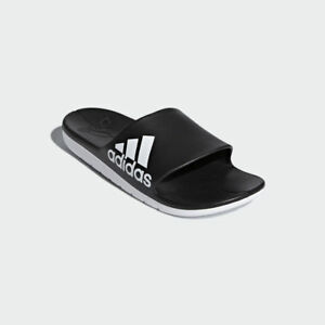 a1571d7d2b53 Adidas Men s Aqualette Cloudfoam Slides! Sandals Sandal Mens Shower ...