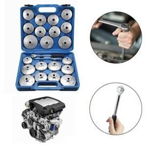 23Pcs-Cap-Type-Oil-Filter-Wrench-Set-Automotive-Removal-Socket-Tool-Kit-New
