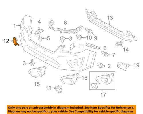 SUBARU OEM 12-14 Impreza Front Bumper-Tow Eye Cap Cover 57731AJ180