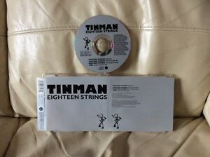 TINMAN-034-EIGHTEEN-STRINGS-034-4-TRACK-1994-DANCE-CD-SINGLE-VERY-GOOD-CONDITION