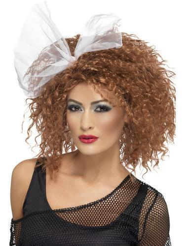 Madonna Wild Child Ladies Wig Fancy Dress 80s Celebrity Diva Costume Accessories