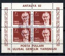 Turkey 1982 SG#MS2795 Antalya Stamp Exhibition Cto Used M/S #A35764