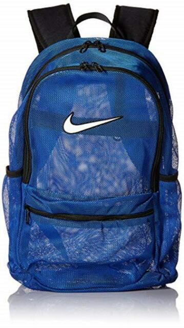 Nike Ba5388 480 Brasilia 7 Mesh Backpack Bag Royal Blue Unisex For Sale Online Ebay