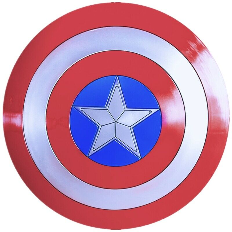 Capitán escudo americano, tamaño real  57 cm.ABS cosJugar