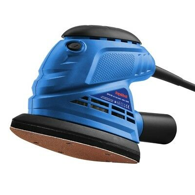 Electric 150W Orbital Sander  with 5 Sanding Sheets   90 mm x 187 mm