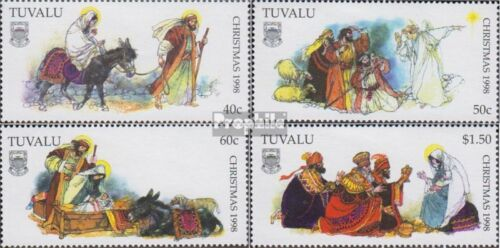tuvalu 818821 complete.issue. unmounted mint never hinged 1998 christmas